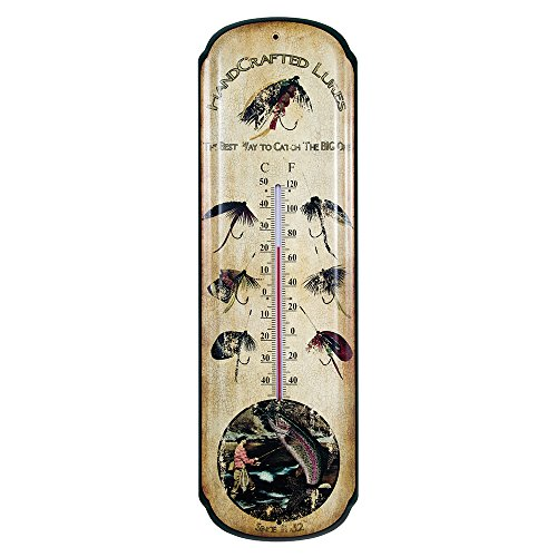 Fishing Thermometer Large Sign