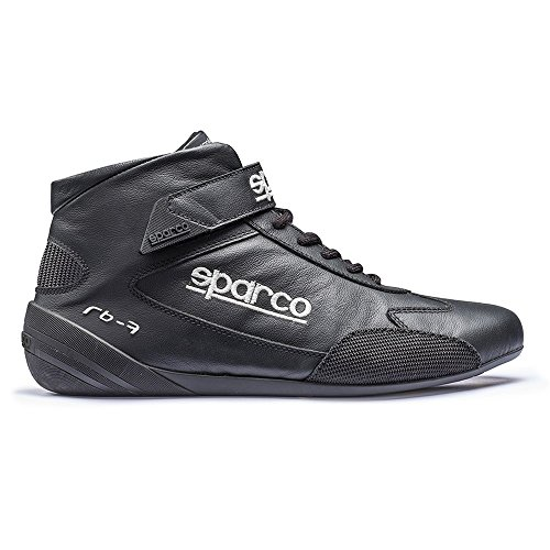Sparco 00122445az Scarpa Cross Rb7 45 Blu Nero Con Piping Bianco