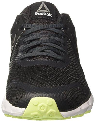 Reebok Herren Hexaffect Run 5.0 Laufschuhe Grau (Coal/electric Flash/white/pewter)