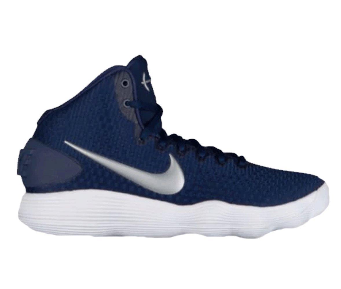 Nike Womens Hyperdunk Mid 2017 Navy Basketball Shoe Size 8