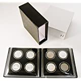 COIN ALBUM FOR AIRTITE MODEL I CAPSULE HOLDERS - Perfect for Silver Dollars by Pinnacle