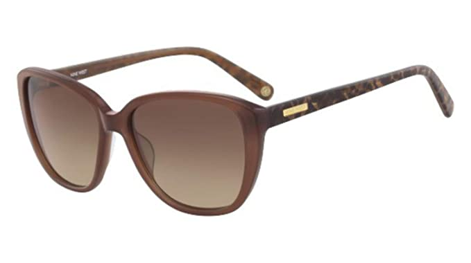 Amazon.com: Gafas de sol NINE WEST NW 625 S 210 BROWN: Clothing