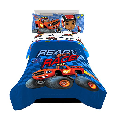 Nickelodeon Blaze Twin/Full Reversible Comforter