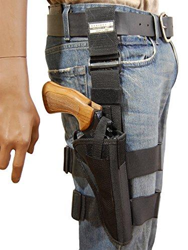 Barsony New Tactical Leg Holster for COLT KING COBRA right