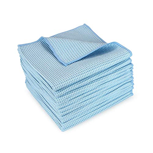 (Arkwright |Microfiber Waffle Cloths 12-Pack, 16