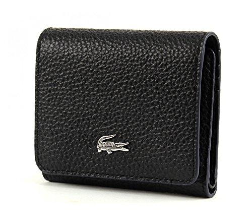 LACOSTE Renee Medium Trifold Wallet Black
