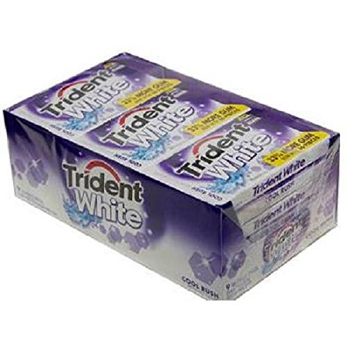 Product Of Trident White, Gum Cool Rush, Count 9 (16Pcs) X 2 (Package Quantity 2) Gum - (Buy Bulk at a Wholesale Price)