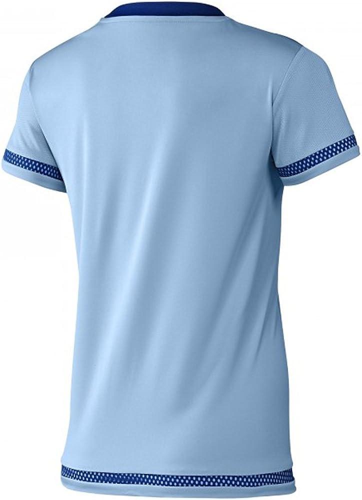 adidas Mujer Argentina Casa fútbol Jersey, M, Blanco/Azul: Amazon ...