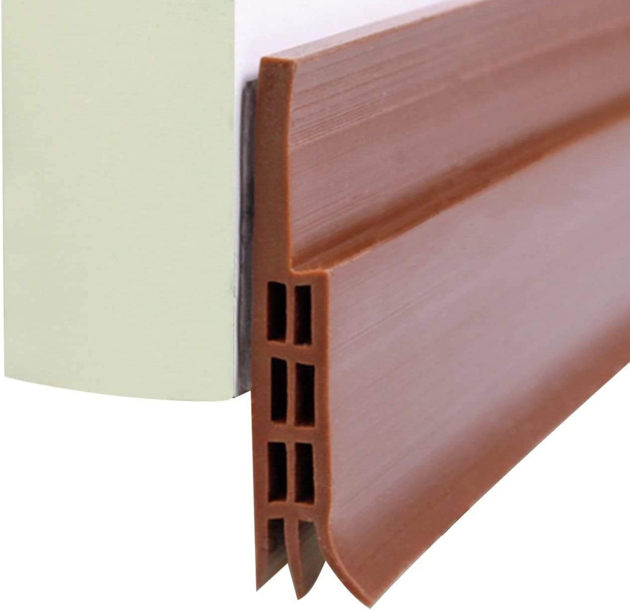 NA Door Draft Stopper Door Bottom Seal Dust and Noise Insulation Weather Stripping Draft Guard 39