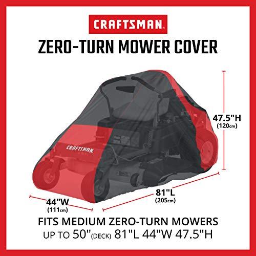 Craftsman Riding Zero Turn Lawn Mower Cover, Medium