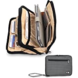 Damai Double Layer Padded Travel Electronic Case Packing Cubes for iPad Mini (Gray)