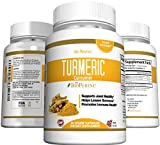 Turmeric Curcumin Capsules with BioPerine 5mg, 95% Curcuminoids, Supplement for Arthritis and Inflammation, Natural Joint Pain Relief (60 Capsules, 30 Day Supply) Review