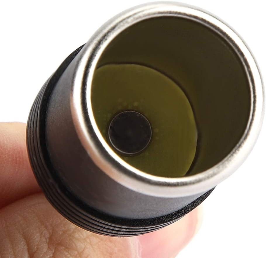 2,1 mm Femmina Presa per cavo di alimentazione femmina a DC 5,5 Qii lu Accendisigari