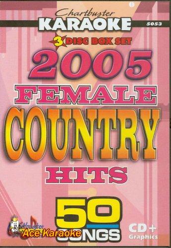 Karaoke: Country Female 2005 (Female Artists Cd)
