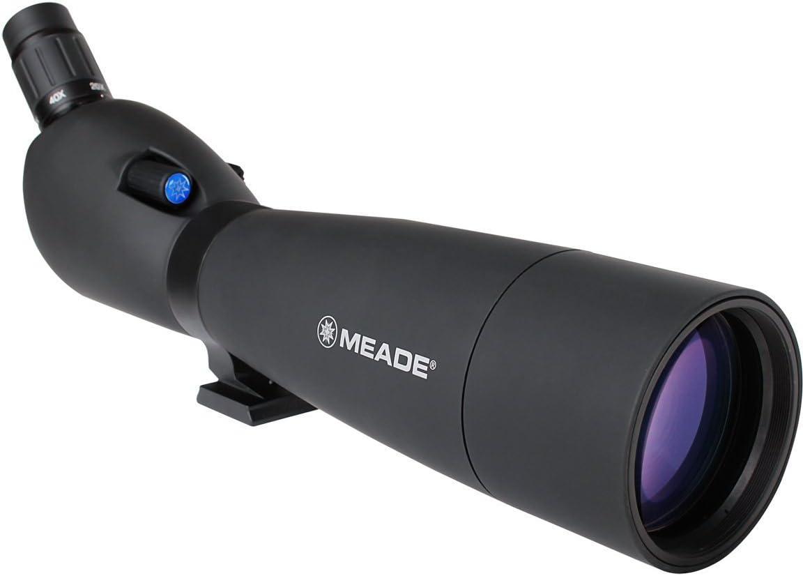Meade Instruments 126001 Wilderness Spotting Scope – 20-60×80-mm Black