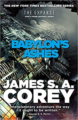 The Expanse #6. Babylon's Ashes book cover