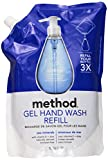 Method Gel Hand Wash Refill Pouch, Sea Minerals, 34 oz