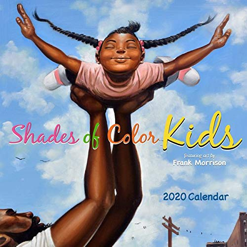 Shades of Color Kids 2020 Calendar ()