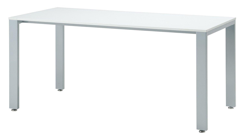 UTS-S1575 テーブル ミーティングテーブル 会議用テーブル W1500*D750*H700mm [3色から選べる天板] 天板:16mm厚 脚:シルバー 天板カラー:ダークブラウン(DB) B00JRW3JU0天板:ダークブラウン