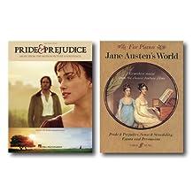 Jane Austen Easy Piano Music Collection - Two Books - Includes Pride & Prejudice and Jane Austen's World