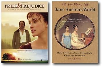 Jane Austen Easy Piano Música Collection – dos libros – incluye orgullo y prejuicio y Jane Austen del mundo: Amazon.es: Instrumentos musicales