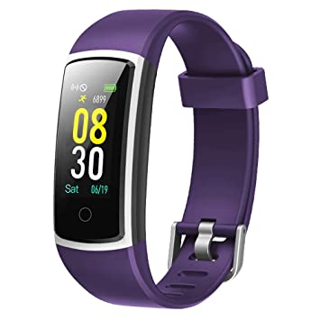 1fd357fc29 スマートウォッチ 2019 最新 血圧 心拍計 歩数計 活動量計 GanRiver スマートブレスレット カラー