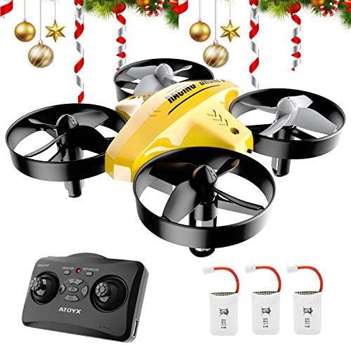 ATOYX Mini Drone, AT-66C RC Drone Niños 3D