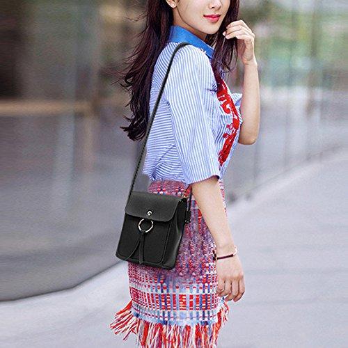 de Da plein main téléphone sac sac sac Lady portable à bandoulière Sports bandoulière Wa de gris frange air à carré qqSTw