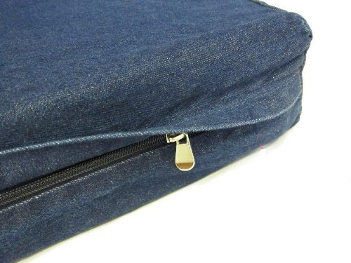 The Largest XXXL 55″X47″X4″ Extra Large Jumbo Super Duty Denim Jean Dog Pet Bed cover – Replacement Cover only, My Pet Supplies