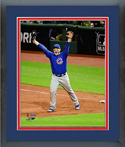 Anthony Rizzo Chicago Cubs 2016 World Series Game 7 Celebration Photo Framed