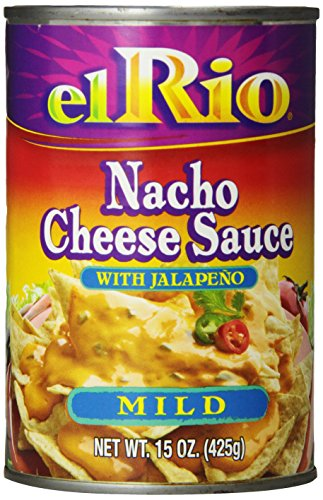 El Rio Mild Nacho Cheese Sauce with Jalapeno Peppers, 15-Ounce Units (Pack of 12) (Nacho Jalapeno Peppers)