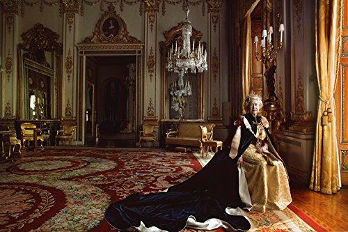 Queen Elizabeth II Portrait 13 X 19
