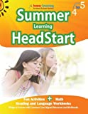 img - for Summer Learning HeadStart, Grade 4 to 5: Fun Activities Plus Math, Reading, and Language Workbooks: Bridge to Success with Common Core Aligned Resources and Workbooks book / textbook / text book