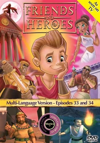 Friends and Heroes Multi-Language Episodes 33 & 34 - Includes Children's Bible Stories of the Parable of the Lost Sheep, Jesus, Samuel, Saul and Elijah