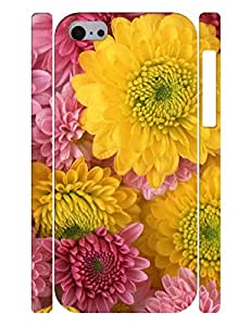 Personalized Collection Mobile Phone Case With African Daisy Printed Anti Scratch Case Cover for Iphone 5c