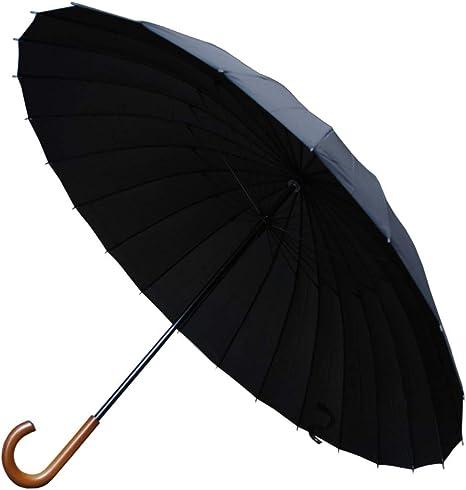 21 cm Ferm/é Conception HAUTEMENT Technique Mini Parapluie Rare avec Ouverture ET Fermeture AUTOMATIQUES COLLAR AND CUFFS LONDON Robuste Parapluie Pliable Noir