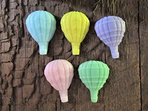 Organic Shea Butter Hot Air Balloon Soap Favors Set of 25 ()