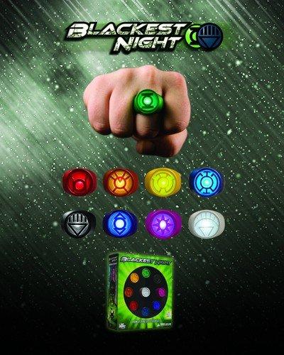 Blackest Night  Power Ring Spectrum Set