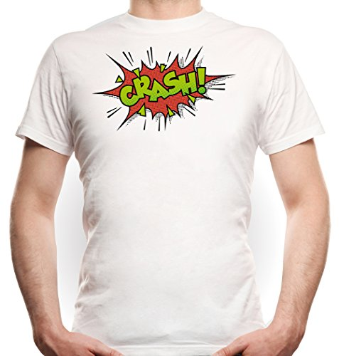 Crash Comic T-Shirt White Certified Freak
