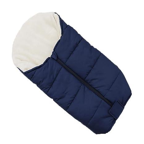 Cochecito de bebé Saco de dormir, cubierta de dedo del pie cálido y cálido Invierno