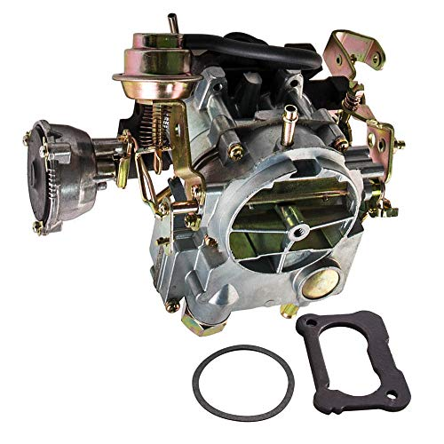 Barrel Carburetor 2 Rochester - maXpeedingrods 2-Barrel Carburetor for Rochester 2GC, for Chevrolet Small Block Engine 350cu/5.7L 1970-1980 and 400cu/6.6L 1970-1975