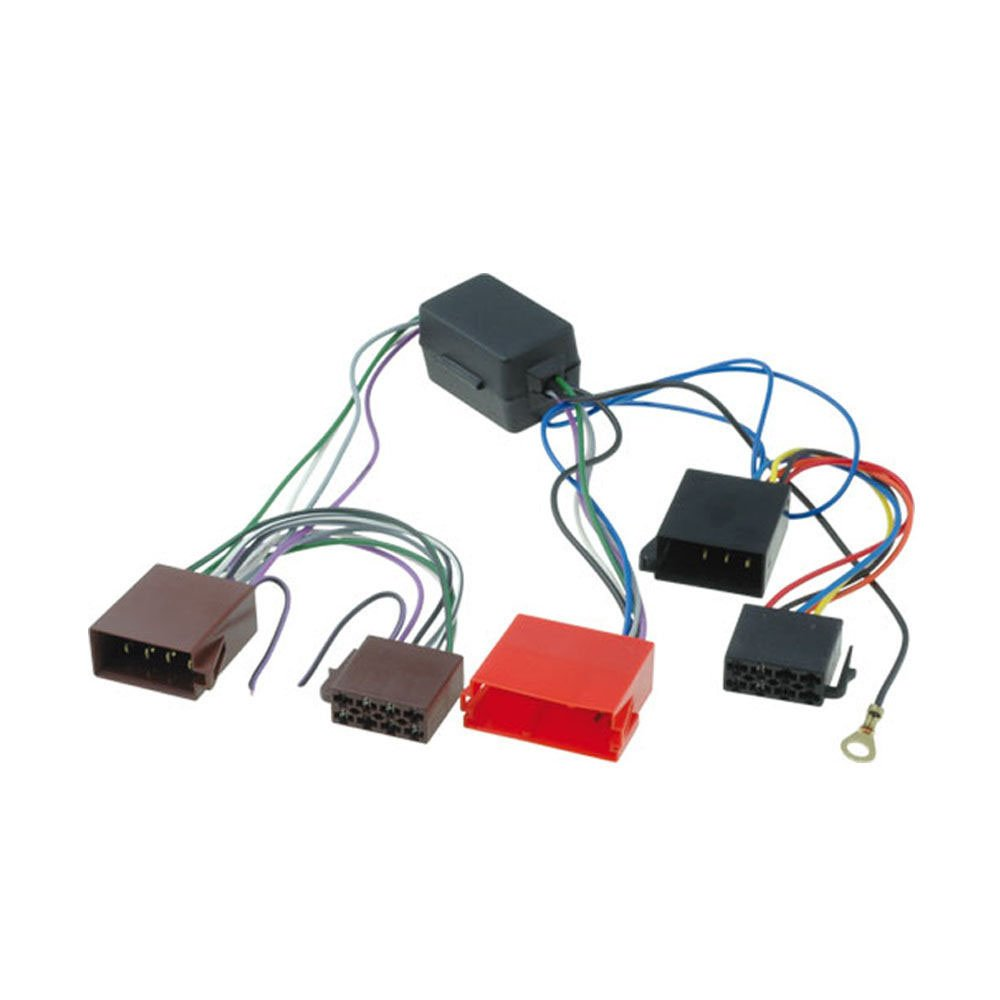 51tfV6OSXdL._SL1000_ amazon com audi a2, a3, a4, a6, a8, tt bose amplified car iso audi a4 stereo wiring harness at readyjetset.co