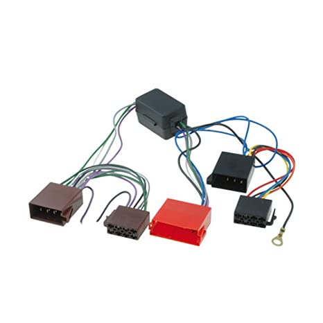 amazon com audi a2, a3, a4, a6, a8, tt bose amplified car iso Jeep Commander Wiring Harness amazon com audi a2, a3, a4, a6, a8, tt bose amplified car iso wiring harness adaptor loom automotive