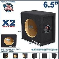 "6 1/2"" Speaker BOX Enclosure 6.5"" CAR Speaker BOX (1 Pair)"