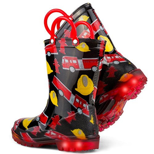 Chillipop Children's Light Up Rain Boots, Little Kids & Toddlers, Boys & Girls by Chillipop (Image #4)'