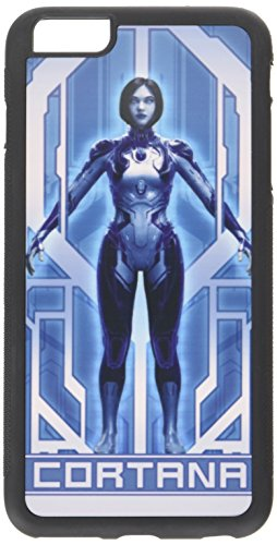 Buckle-Down Cell Phone Case for iPhone 6 Plus - 5 Cortana Pose Blues/Grays - -