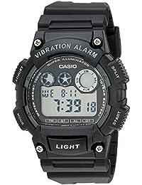Men's W735H-1AVCF Super Illuminator Watch With Black...