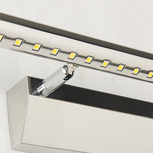 Homestia 110V 9W Warm Lighting Led Bathroom Lights Wall Cabinet Mirror Lighting Easy to Use 3200K 75CM Length durable modeling