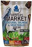 Plato Farmers Market Salmon and Vegetables Dog Treats 14.1-Ounce