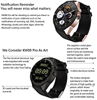 Amazon.com: KINGWEAR KW88 GPS Smart Watch,Pro 3G Android 7.0 ...